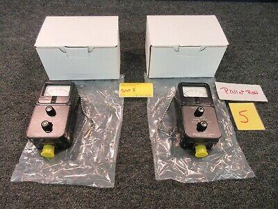 2 Simpson Gte Voltage Alignment Signal Meter Receiver Radio Tester 0-10 Dc Volt