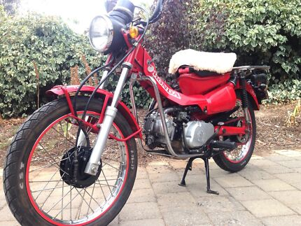 Honda CT110  Postie  Custom