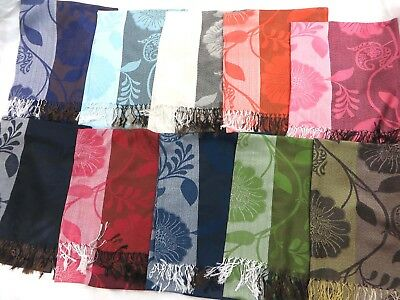 $3.75 each, wholeale 100 neck scarves for women viscose pashmina shawl scarf