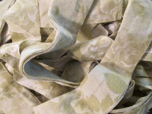 Rag Rug Yarn Precut Fabric Strips Toothbrush Amish Knot Braided Crochet 16 yd K