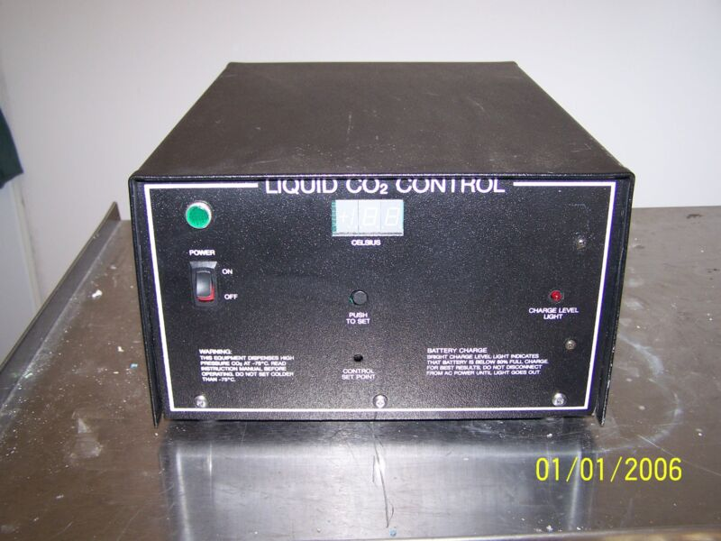 Thermo Scientific Harris   Co2 Backup System Model 6593-1 Cryogenic Freezers
