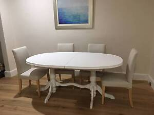 Gumtree Wooden Dining Table Sydney Oslo 5pc Round MDF Dining