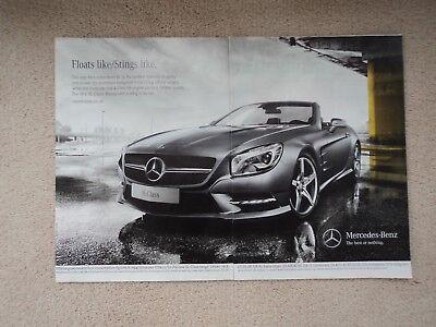 Mercedes  -Benz SL500  -  Advertisement  - 2012