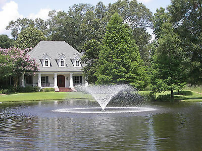 Kasco 2.3VFX 150 Floating Aerating Fountain 2hp 240 volts 3 Phase 150' Cord WPS
