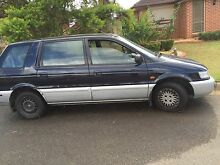 7 seater people mover Mitsubishi nimbus 1997 Glendenning Blacktown Area Preview