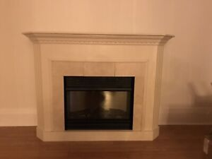 Electric Fireplace and Mantle $450 located in Toronto