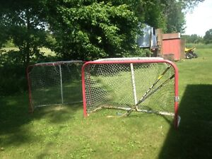 Hockey nets and accessories