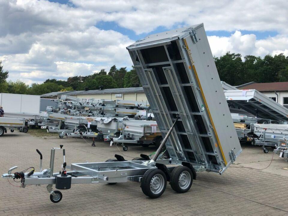 ⭐️Anhänger Eduard Kipper 3000kg 311x160x60cm Rampen Flachplane 63 in Schöneiche bei Berlin