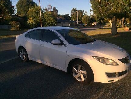 Mazda 6 White 2009