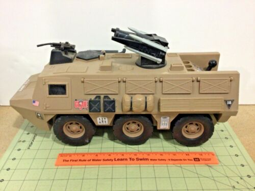 GI Joe motorized armored personnel carrier vehicle. FREE Shipping! as-is