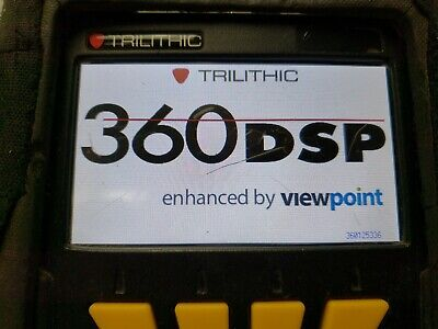 Trilithic 360dsp Home Cert Catv Docsis 3.0 Meter And Case Pre Owned