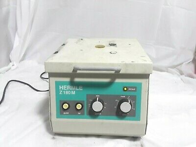 Labnet Hermle Z180m-24 Micro Centrifuge W 24 Place Rotor