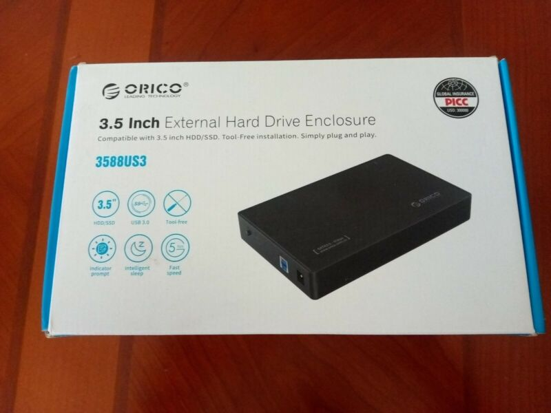 Orico 3.5 Inch External Hard Drive Enclosure