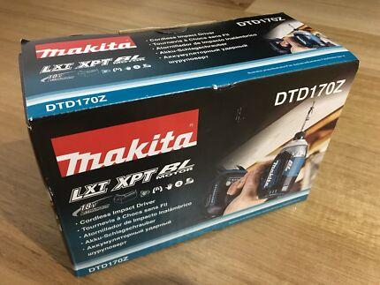 Makita 18V BRUSHLESS Impact driver