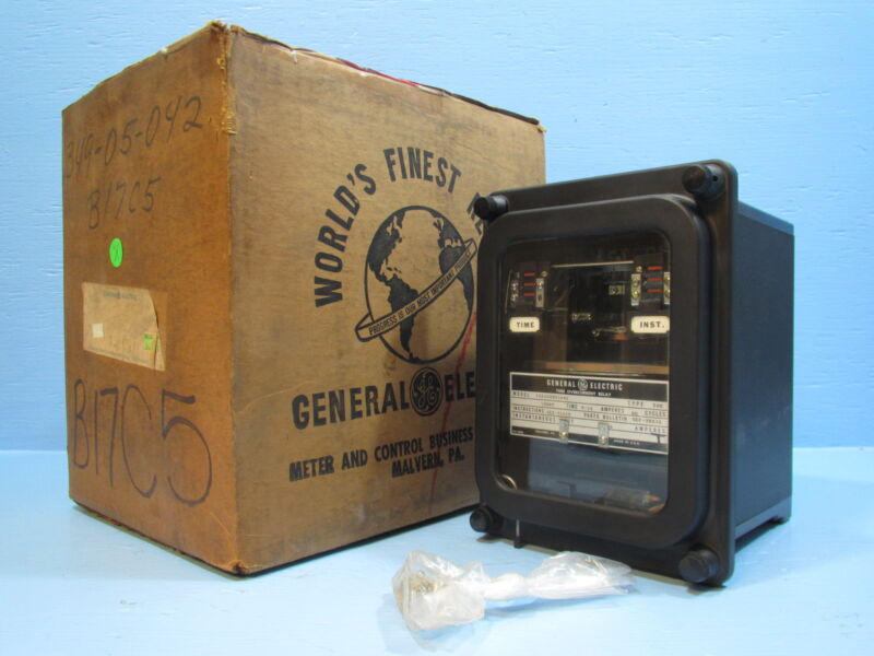 NEW GE 12IAC55B104A Time Overcurrent Relay Short 4-16A General Electric IAC
