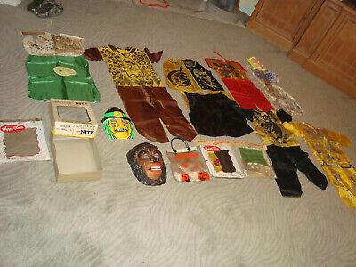 Lot of Vintage Halloween Collegeville Costume Costumes