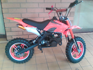 Brand new Mini dirt bikes 49cc 50cc moto x Parafield Gardens Salisbury Area Preview
