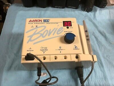 Aaron Bovie A900 Hyfrecator Desiccator With Hand Control