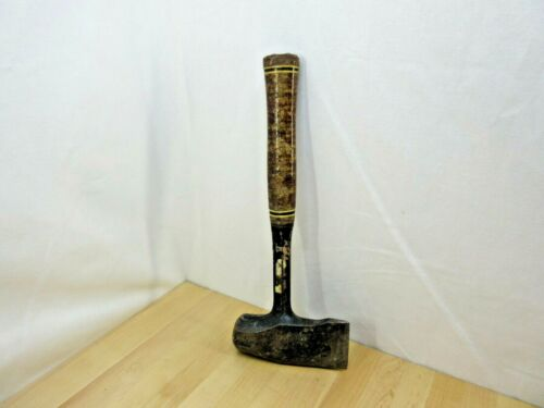 Vintage Estwing Hatchet / Maul / Hammer / Axe with Leather Grip - USA