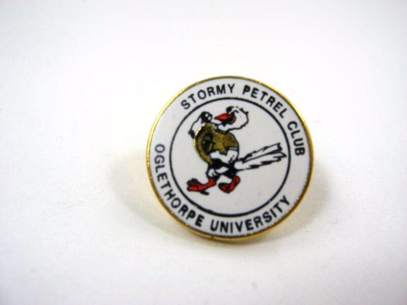Vintage Collectible Pin: Oglethorpe University Stormy Petrel Club
