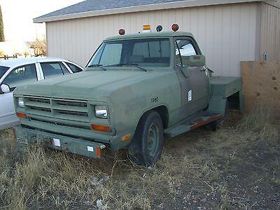 1990 dodge truck cummins diesel automatic 27 000 miles. Black Bedroom Furniture Sets. Home Design Ideas
