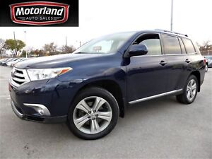 2012 Toyota Highlander Sport Leather Roof