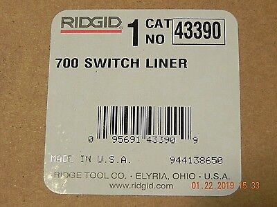 Genuine Ridgid 43390 Switch Liner For 700 Power Drive