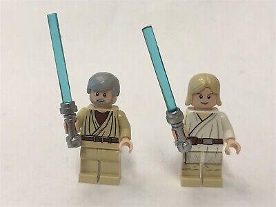 Star Wars Lego Mini Figures Luke Skywalker And Obi Wan A New Hope