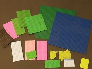 LEGO base plate lot