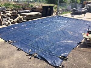 Mesh Pool Cover - Rectangle