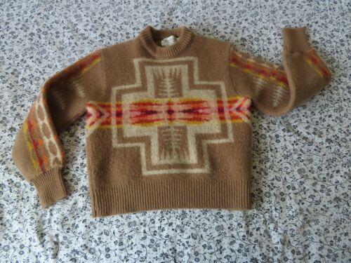 kids Vintage PENDLETON highgrade Western Wear Wool southwestern Sweater XL