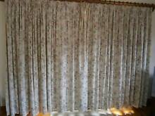 FULL LENGTH LINED PENCIL PLEATED CURTAINS Willoughby East Willoughby Area Preview