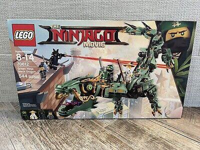 LEGO Ninjago 70612 Green Ninja Mech Dragon. ⭐️NEW Factory Sealed!⭐️