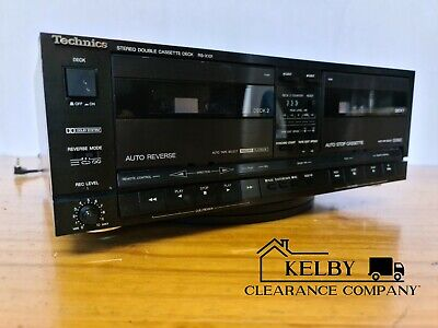 Technics RS-X101 Component Stereo Cassette Twin Tape Deck Vintage Hi Fi Seperate