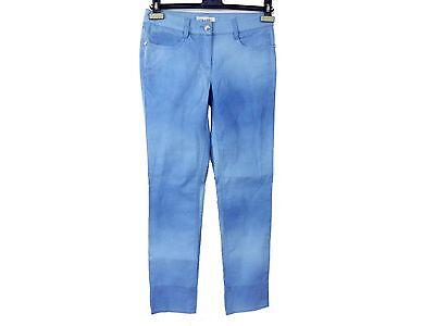 Authentic Chanel Cotton Jeans Pants Ladies Women Size 34 Unused N740