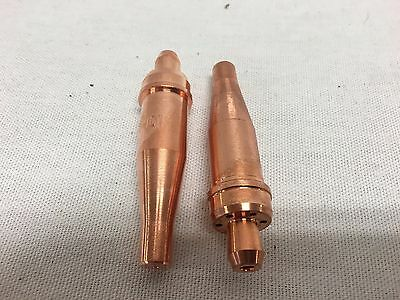 2 Each Acetylene Cutting Tip 00-1-101 For Victor Oxyfuel Torch Comeaux Supply