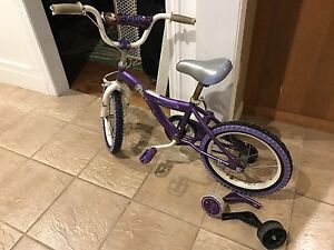 Bratz Dollz 16 inch bike with training wheels