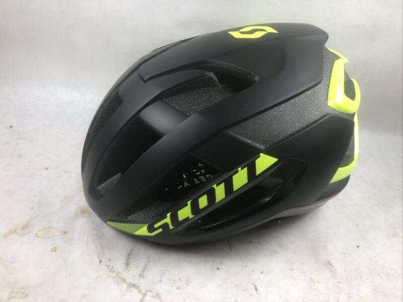 Scott Centric Plus MIPS Cycling Helmet Large 59-61cm, Yellow/Black