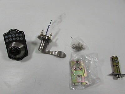 LockState LS-DB500R-SN Electronic Deadbolt with Remote