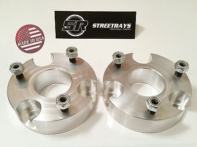 "[SR] CNC Billet 2.0"" Front Leveling Spacer Lift Kit 2006-2018 Dodge Ram 1500 4WD"