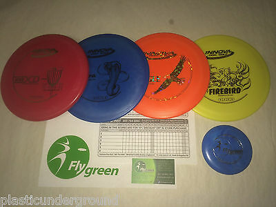 NEW FRISBEE DISC GOLF INNOVA 4 PACK SET ~BUILD YOUR OWN GREAT WAY TO START](Frisbee Golf Set)