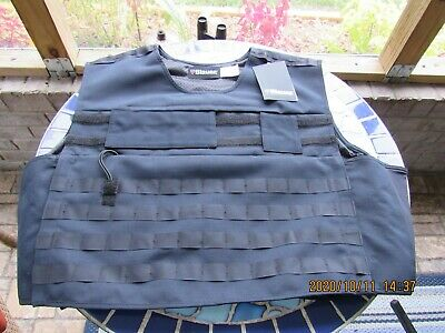 NEW Blauer Ripstop Armorskin TacVest Dark Navy 3XL Reg 8375XP Carrier Vest