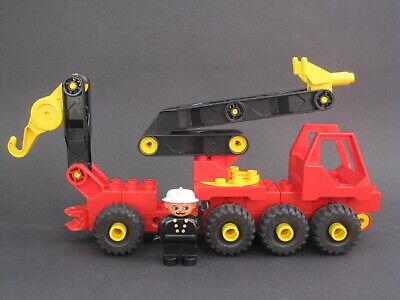Lego Duplo Toolo Wasserwerfer Löschfahrzeug Feuwehrauto Feuerwehrwagen wie 2940