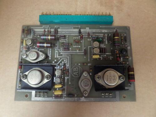 ALLEN BRADLEY PCB CIRCUIT BOARD CARD 633790C 633790-C