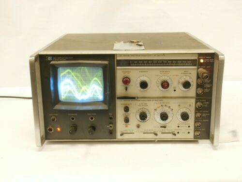 HP 8554B 8552B Spectrum Analyzer RF IF Section 140T Display Section