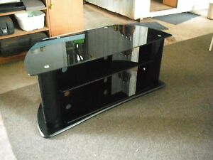 BLACK TV STAND Bees Creek Litchfield Area Preview