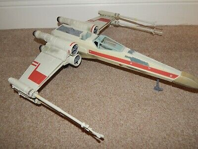 "STAR WARS SAGA X WING FIGHTER FOR 3.75"" FIGURES #Q"