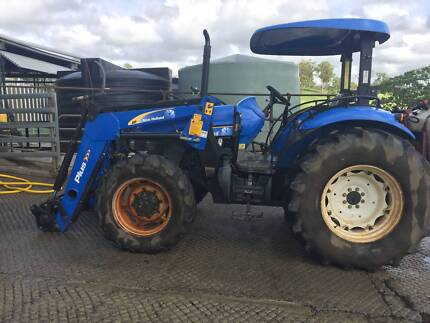 Tractor td 90 New holland