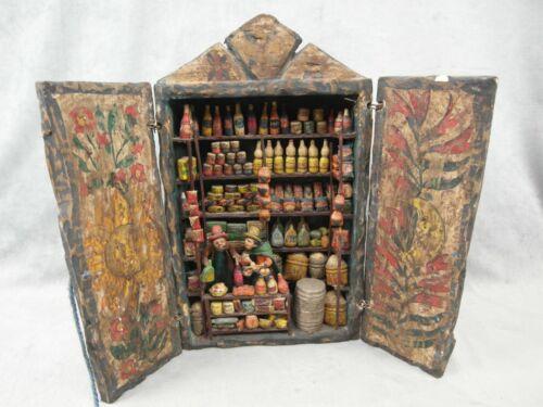"14"" Vintage Peruvian Retablo Folk Art Nicario Jimenez Artist Of Andes Mercantile"