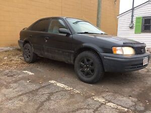 1999 tercel lifted sale or trade